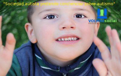 Sociedad autista pretende concienciar sobre autismo