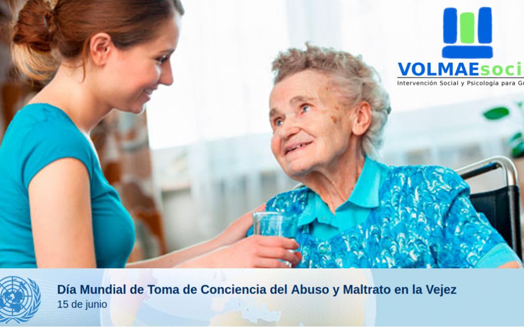 15 Junio: Día internacional del buen trato al adulto mayor.