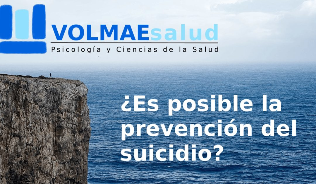 ¿Es posible la prevención del suicidio?