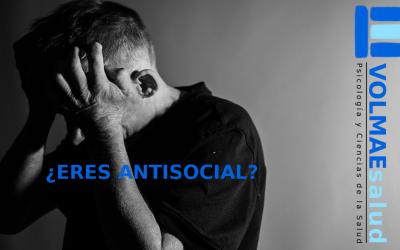 ¿Eres antisocial?