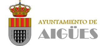 escudo de ayuntamiento de aigues