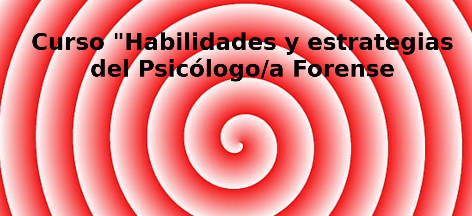 Curso Habilidades y estrategias psicologo forense 2